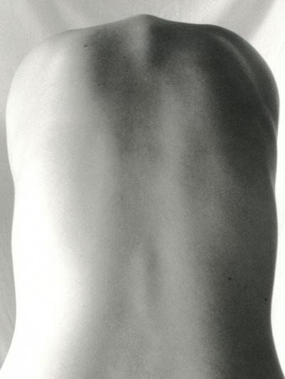 Dos humain pour illustrer les potentiels problèmes et maux de dos